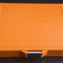 جعبه لام آزمایشگاهی نوع قفل دار نارنجی