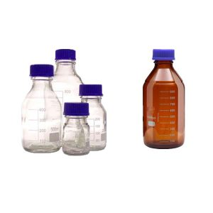 بطری شیشه ای آزمایشگاهی