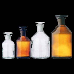 بطری مایعی رنگی
