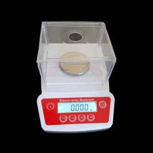 Digital laboratory scale with a precision of 0.001