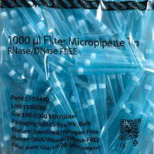 نوک سمپلر فیلتر دار آبی 1000 لاندا برند BIOVIAN مدل 275 عددی