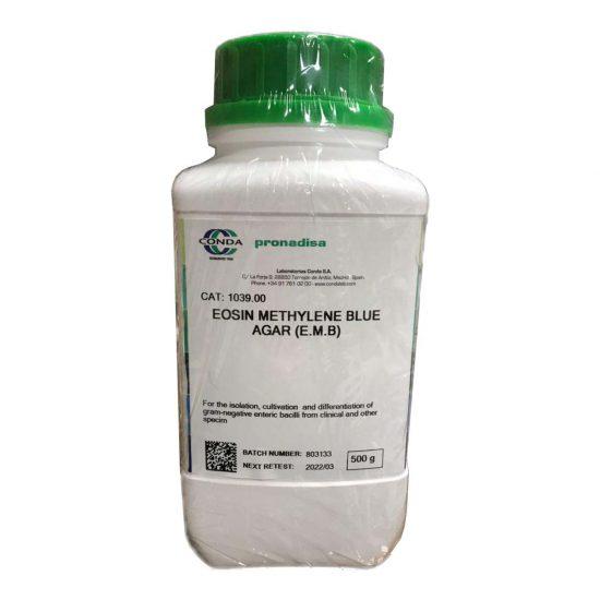 محیط کشت ائوزین (ایزون) متیلین بلو آگار (EMB) برند کندا لب 500 گرم
